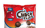 Choco Flips package design